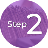 Step 2 - Comb-Out